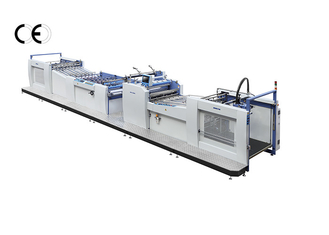 China 380V Large Format Laminator Machine , Pre - Glued Film Paper Lamination Machine supplier