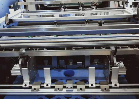 China Automatic Perforating Roll Laminator Machine 100 - 500Gsm Paper Thickness supplier