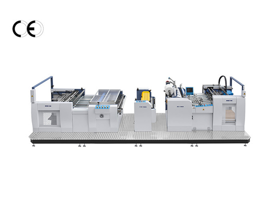 China Strong Combination Automatic Lamination Machine Humanized Design Servo Control supplier
