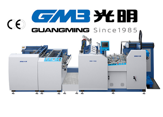 China 20 / 12Kw Automatic Lamination Machine For Pre - Coated Film / Matters Printing supplier