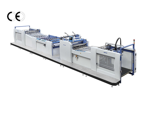 China 380V Large Format Laminator Machine , Pre - Glued Film Paper Lamination Machine factory
