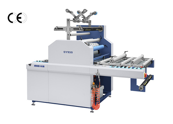LCL Cargo Automatic Lamination Machine , Sheet To Roll Lamination Machine