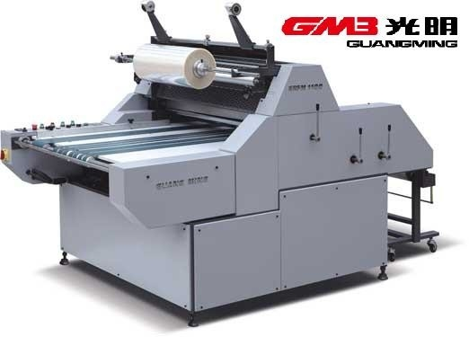 China OPP Film Manual Lamination Machine Water Base Type For Packaging Industry factory