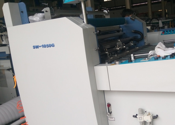 China Auto Feedar Commercial Laminator Machine For Offset Printing Industry factory
