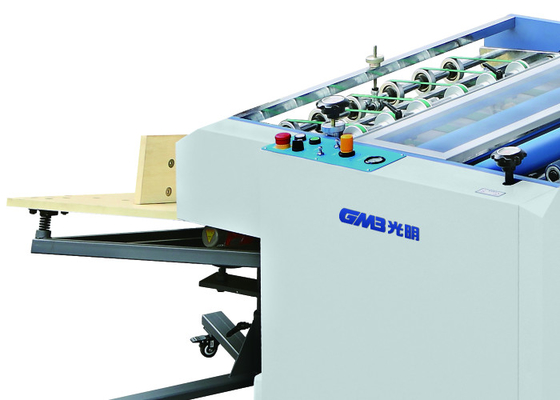 China Magazine Cover BOPP Film Lamination Machine With Air Compressor 1 Year Warranty factory