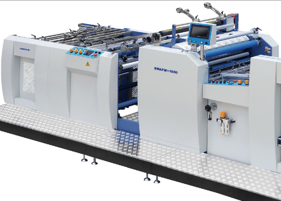 China PLC Control Commercial Laminator Machine For Mass Production SWAFM - 1050 factory