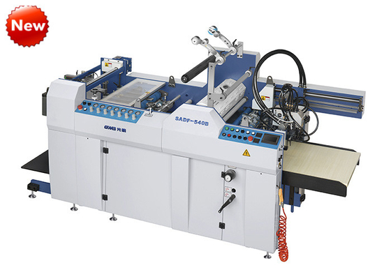 China Steel Commercial Laminating Equipment , Double Side Lamination Machine factory