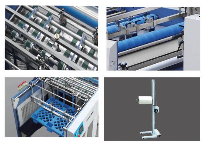 High Performance Film Lamination Machine With Pneumatic Separation System